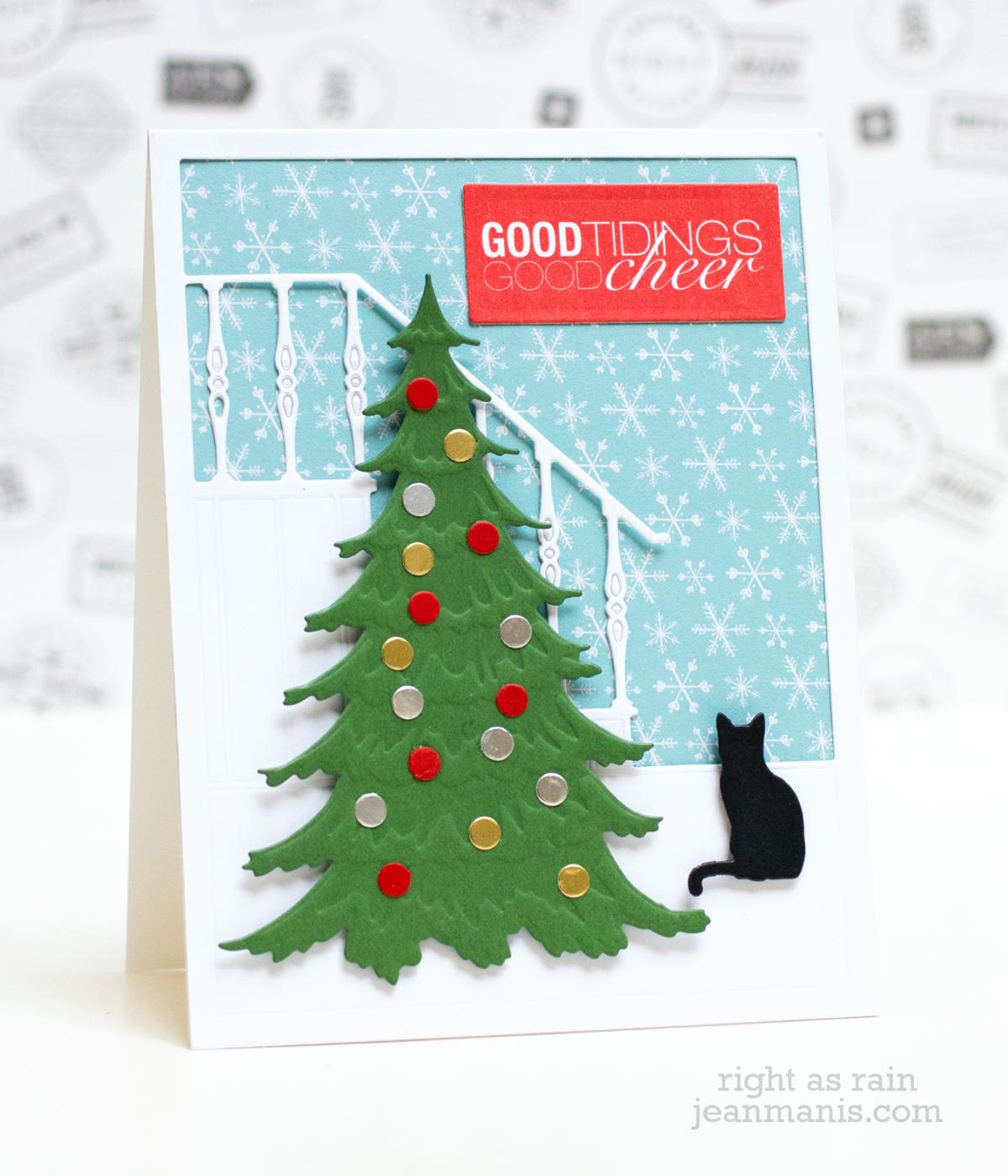 Good Tidings – Die Cut Christmas Scene