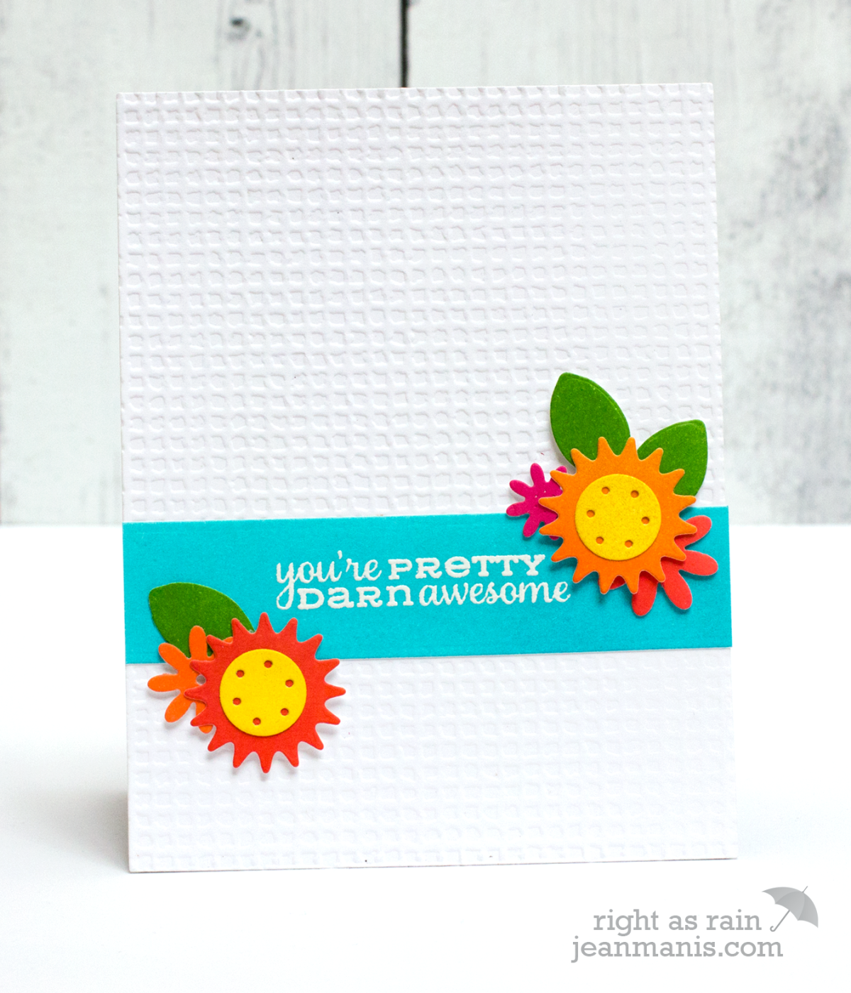 Floral Appreciation Card