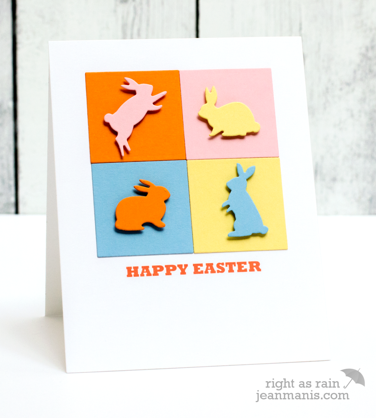 Pop Art Easter Bunnies