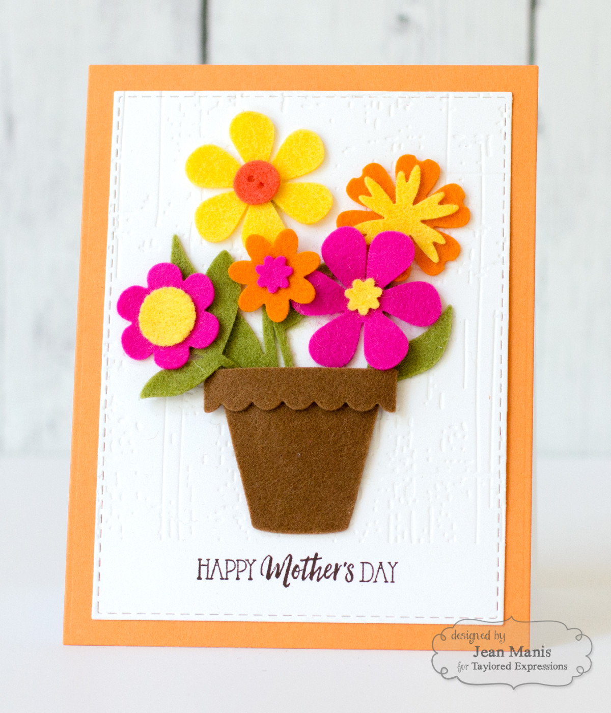 Mother's Day Felt Blooms