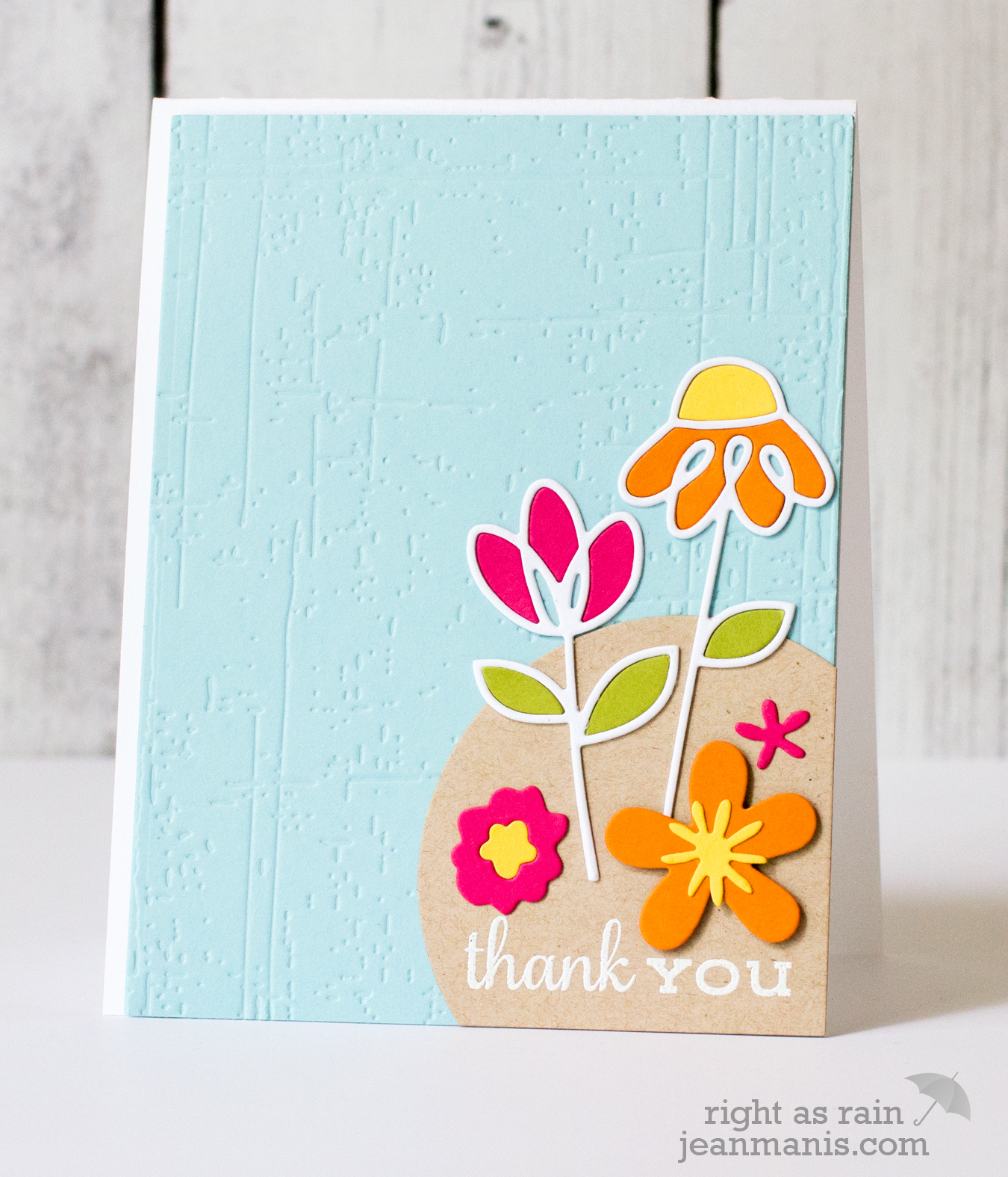Paper Smooches Floral Thanks