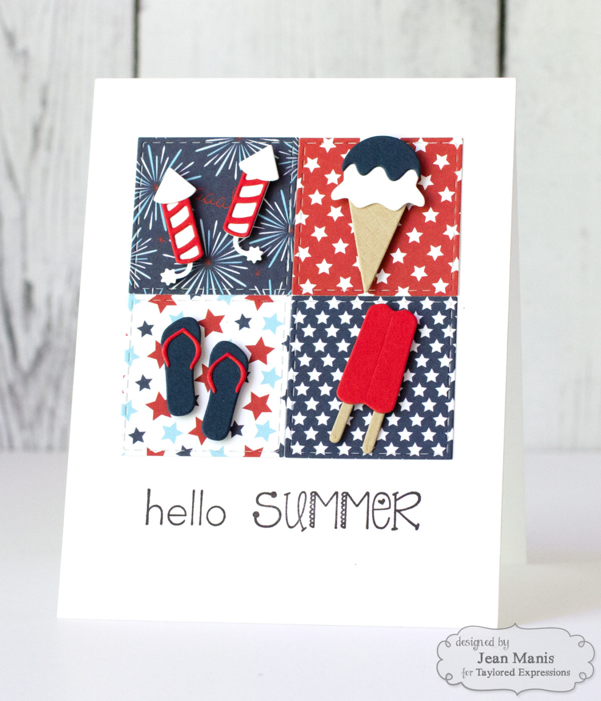 Today Iu0027m Sharing A Card Showcasing The Taylored Expressions Summer Nights  Paper Pack.