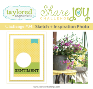 Taylored Expressions Share Joy Challenge #34