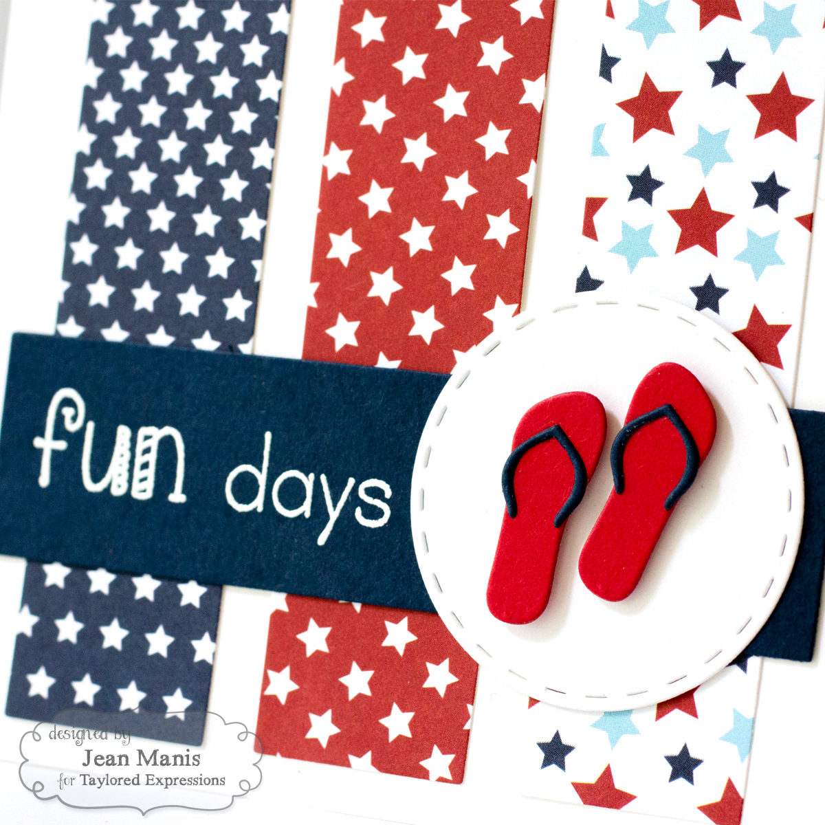 Hooray for Red, White and Blue – TE Share Joy #39