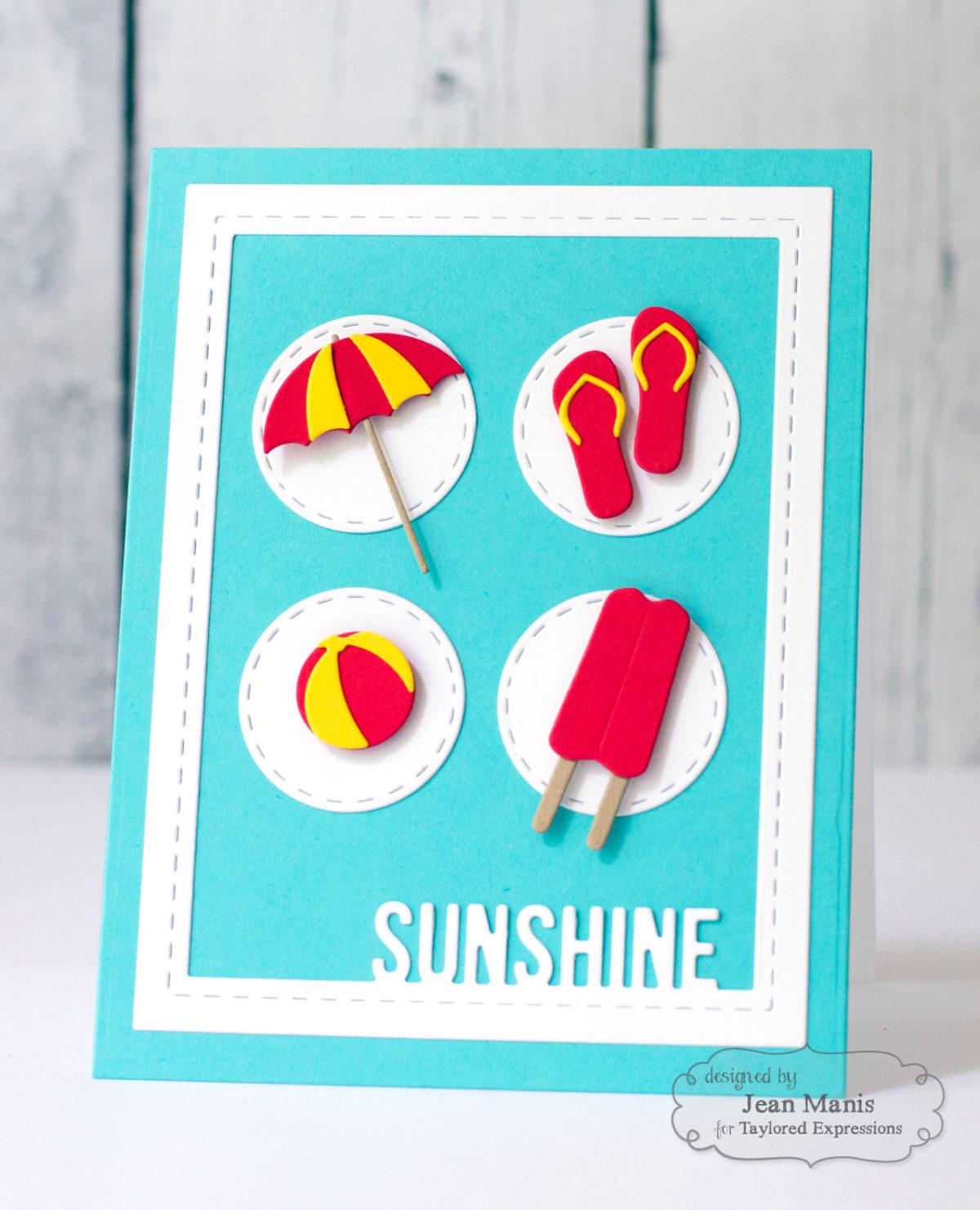 Sunny Summer Days – TE Share Joy Challenge #42