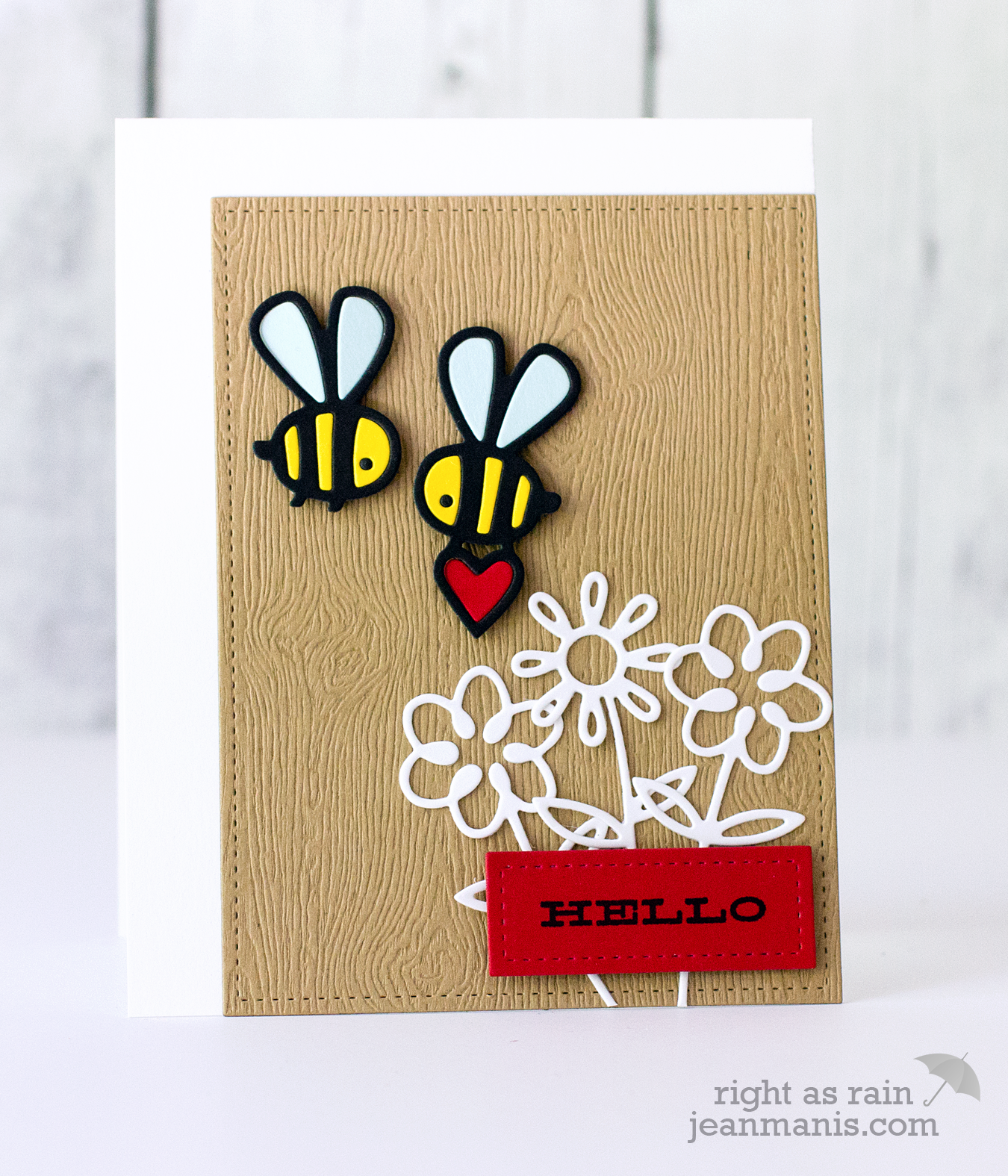 Paper Smooches Bees & Flowers
