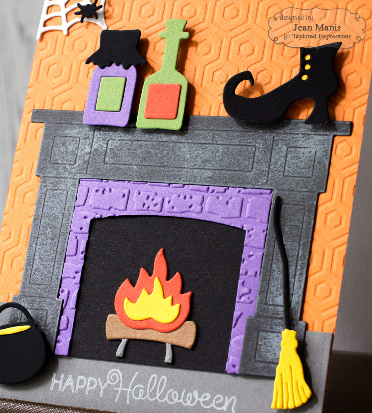 Witch's Fireside Scene + Tutorial