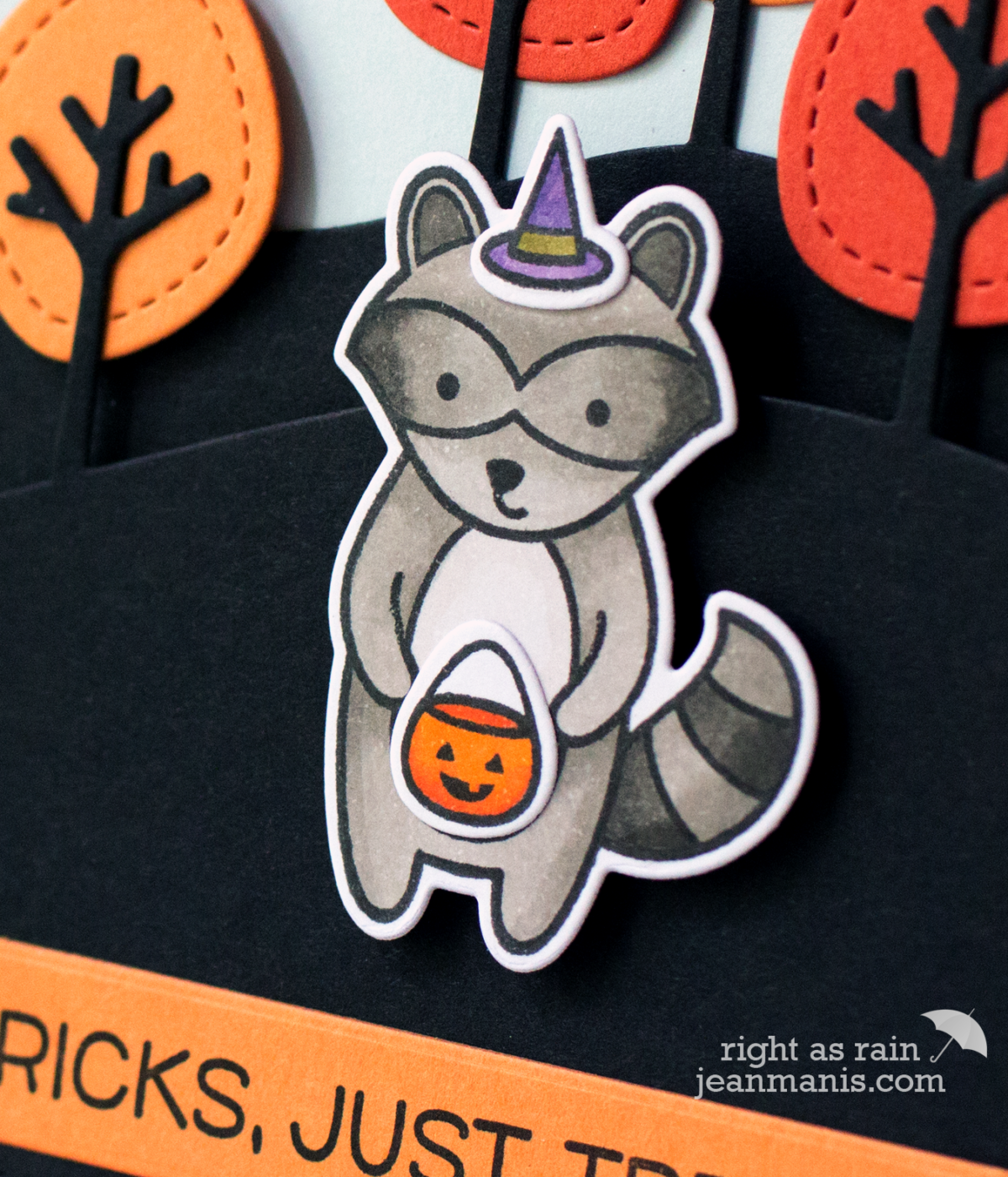 No Tricks, Just Treats – Lawn Fawn Halloween