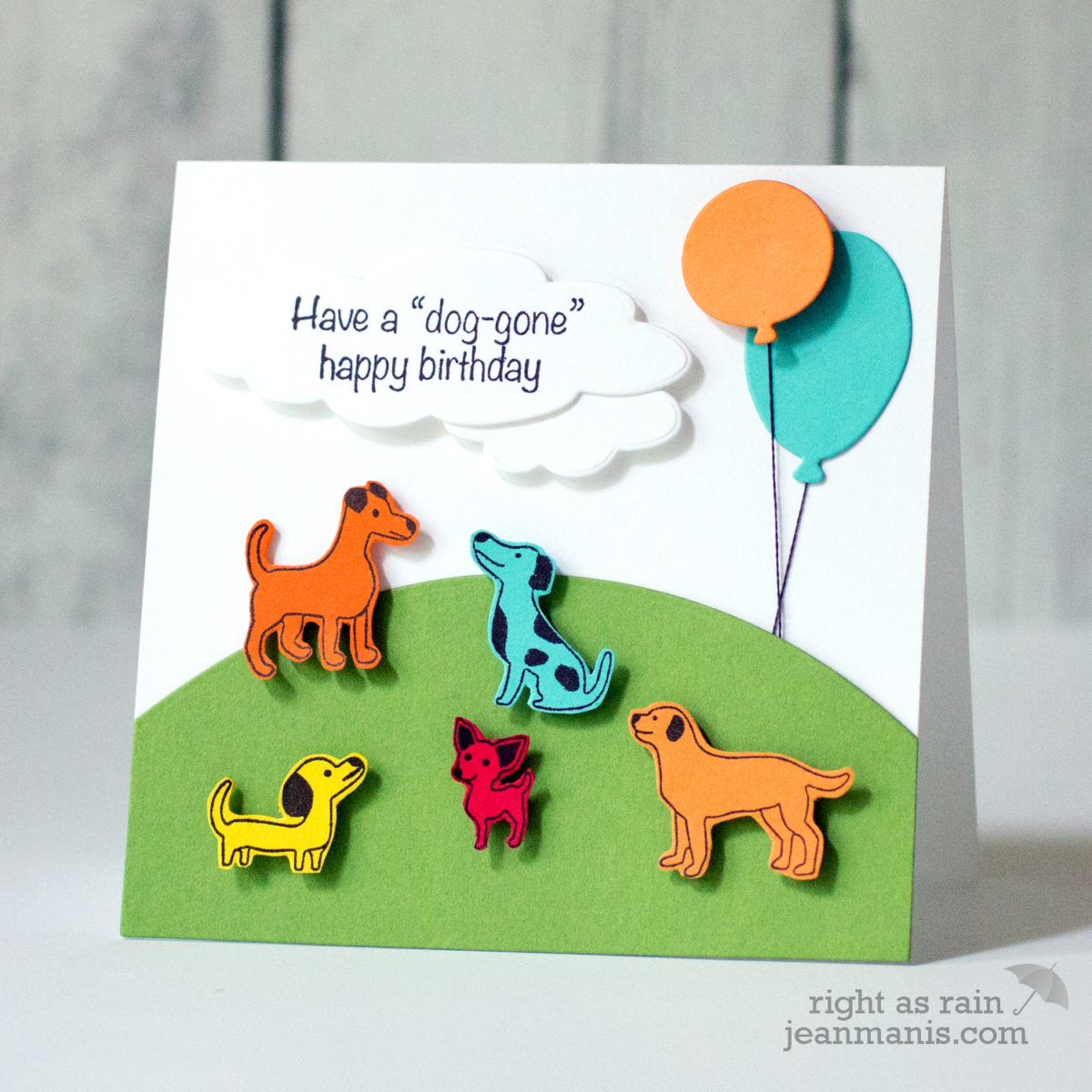 It's a Dog Party! – Penny Black Simplicity