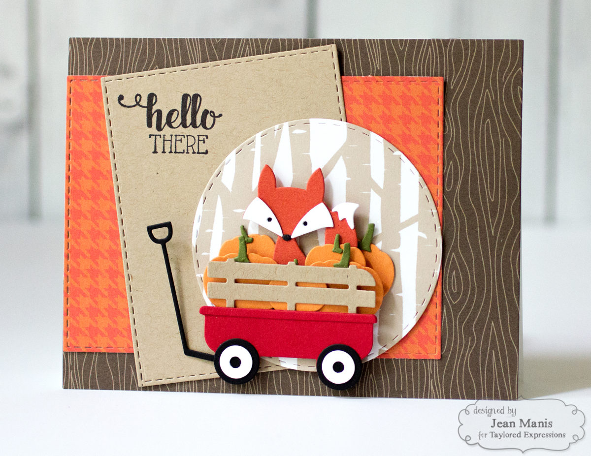 Fall Die-Cut Scene – TE Share Joy Challenge #53