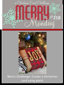 Merry Monday Christmas Challenge #218