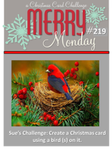 Merry Monday Christmas Challenge - Birds
