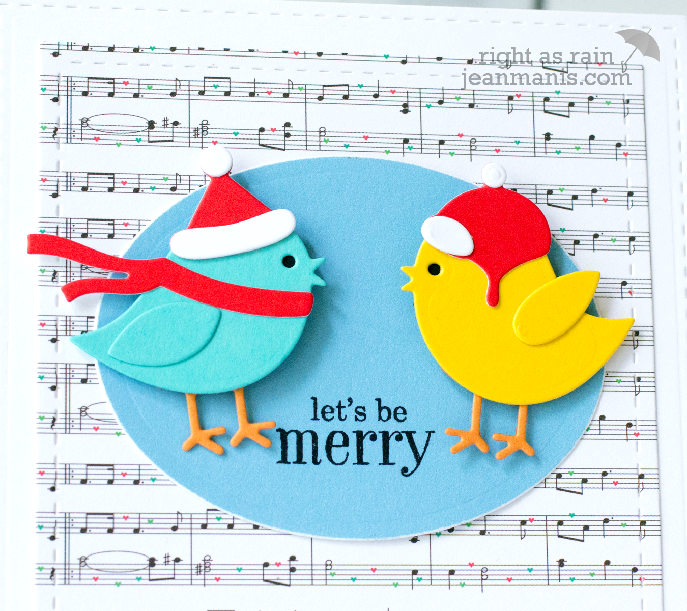 Holiday Die-Cut Birds
