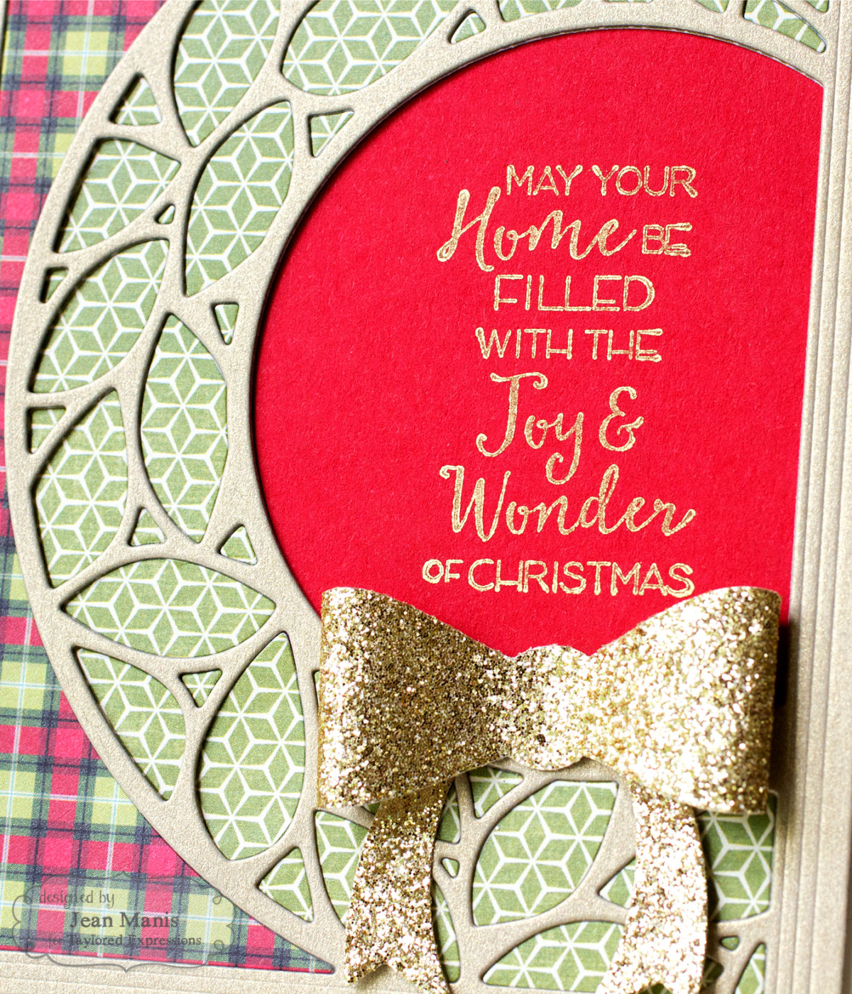 Mad for Plaid – Merry Monday Christmas Challenge
