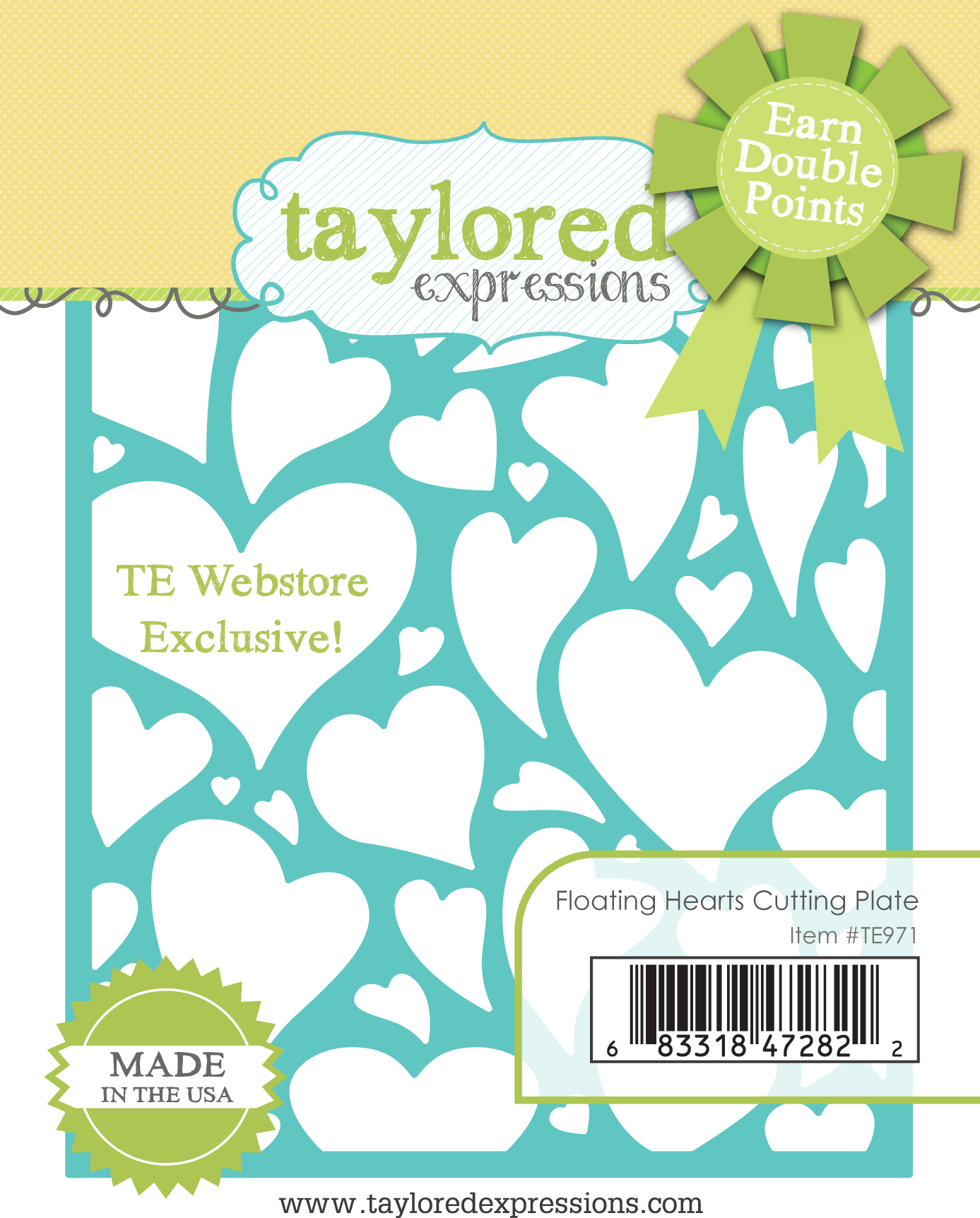 TE Floating Hearts Cutting Plate Promotion