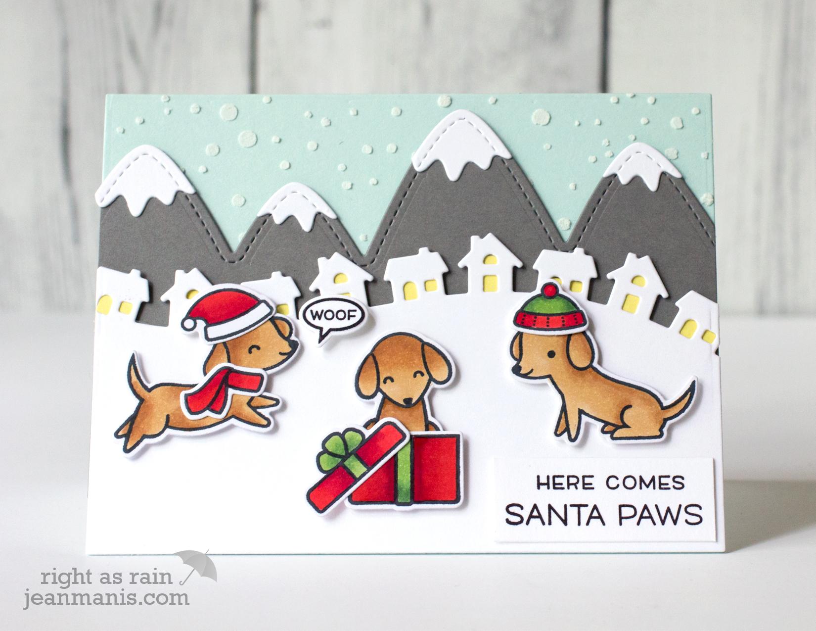Lawn Fawn Santa Paws