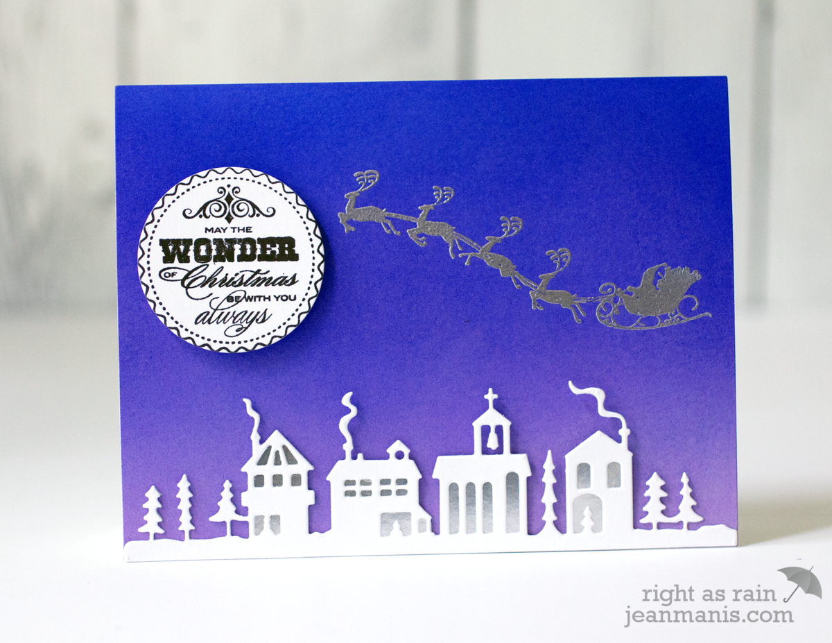 PB Simplicity – Winter Village Die-Cut Scene
