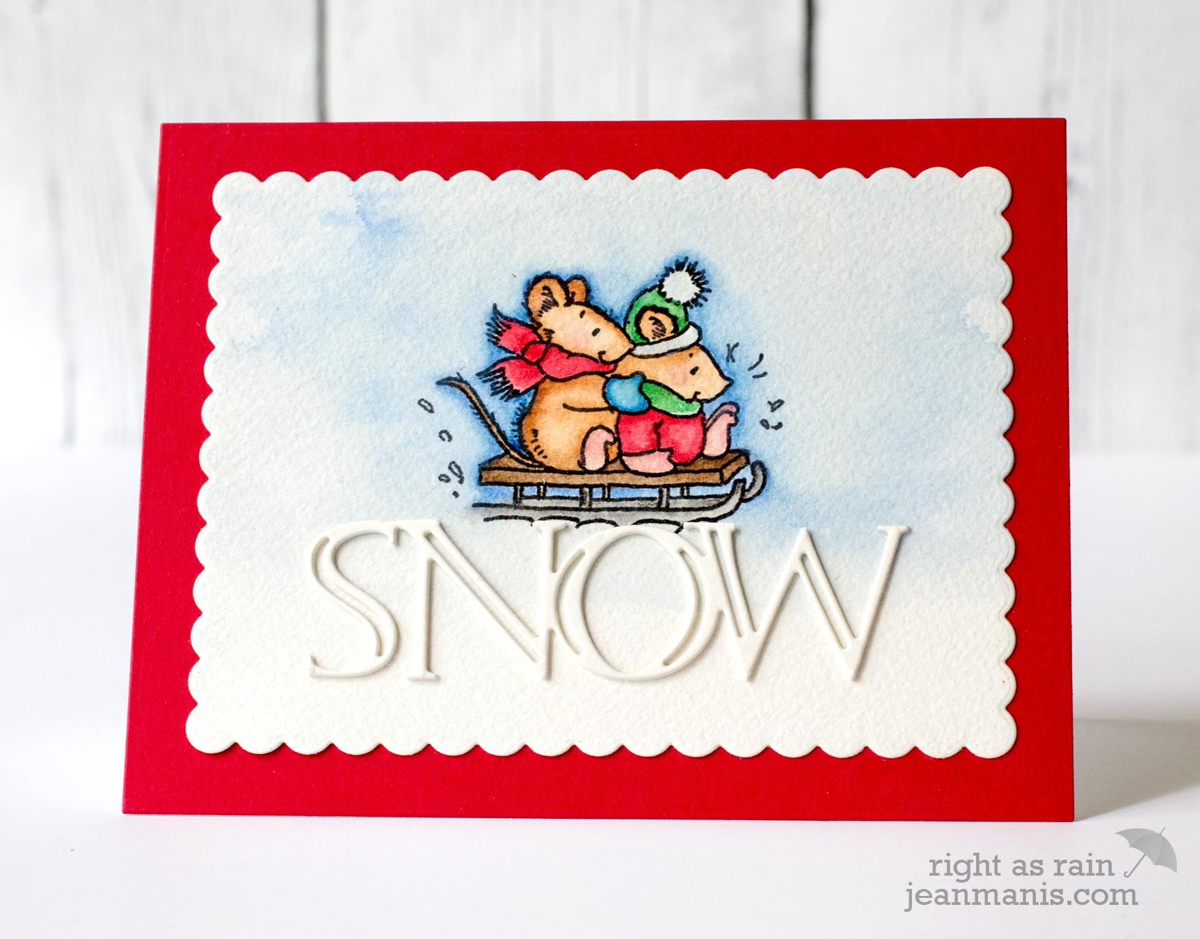 PB Simplicity Snow Mice