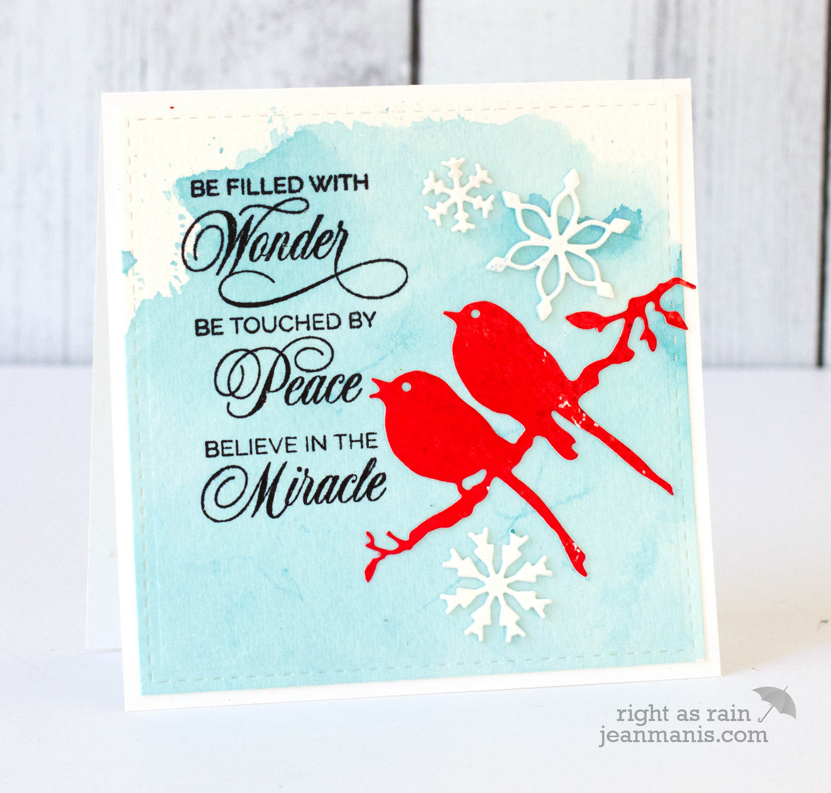 Penny Black Simplicity Winter Birds