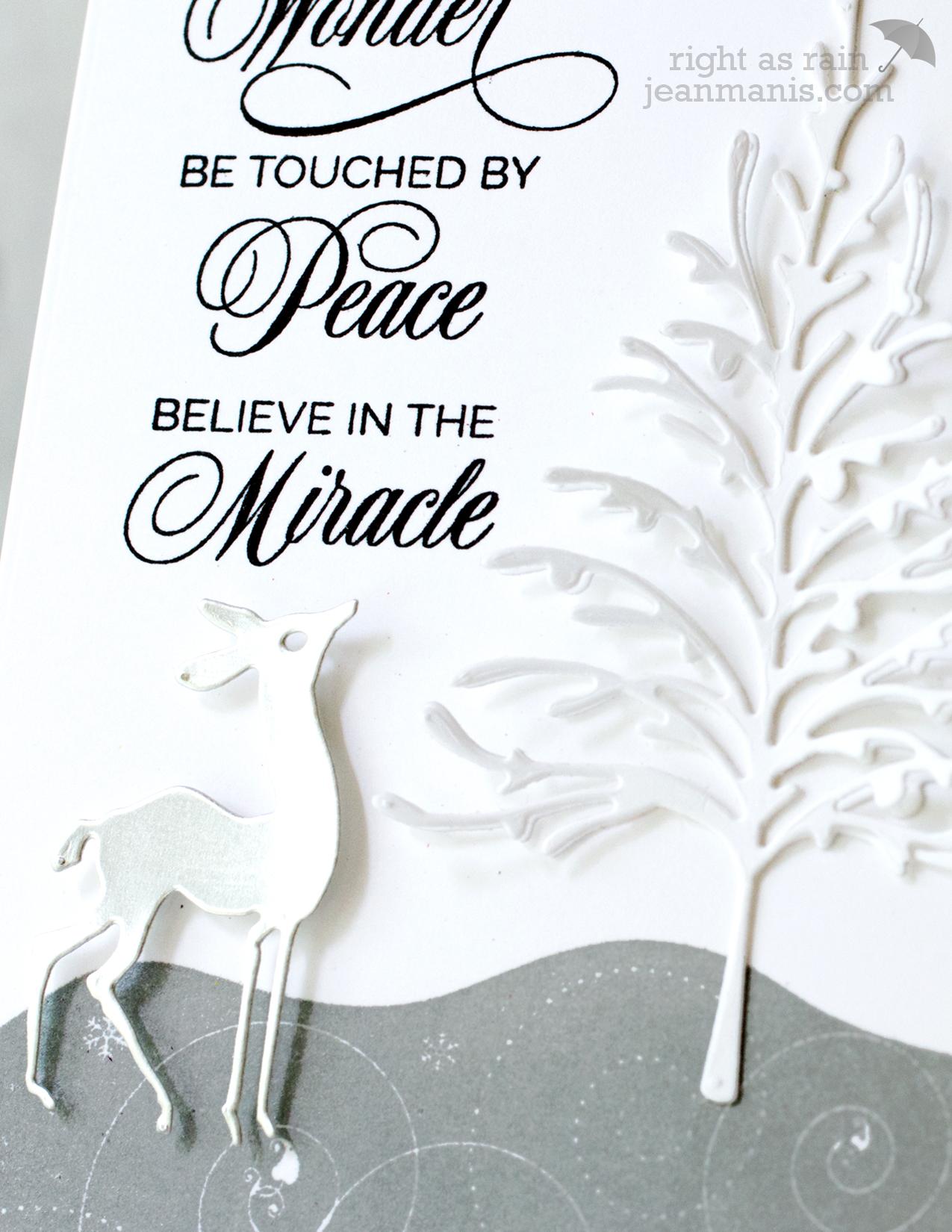 PB Simplicity CAS Christmas card