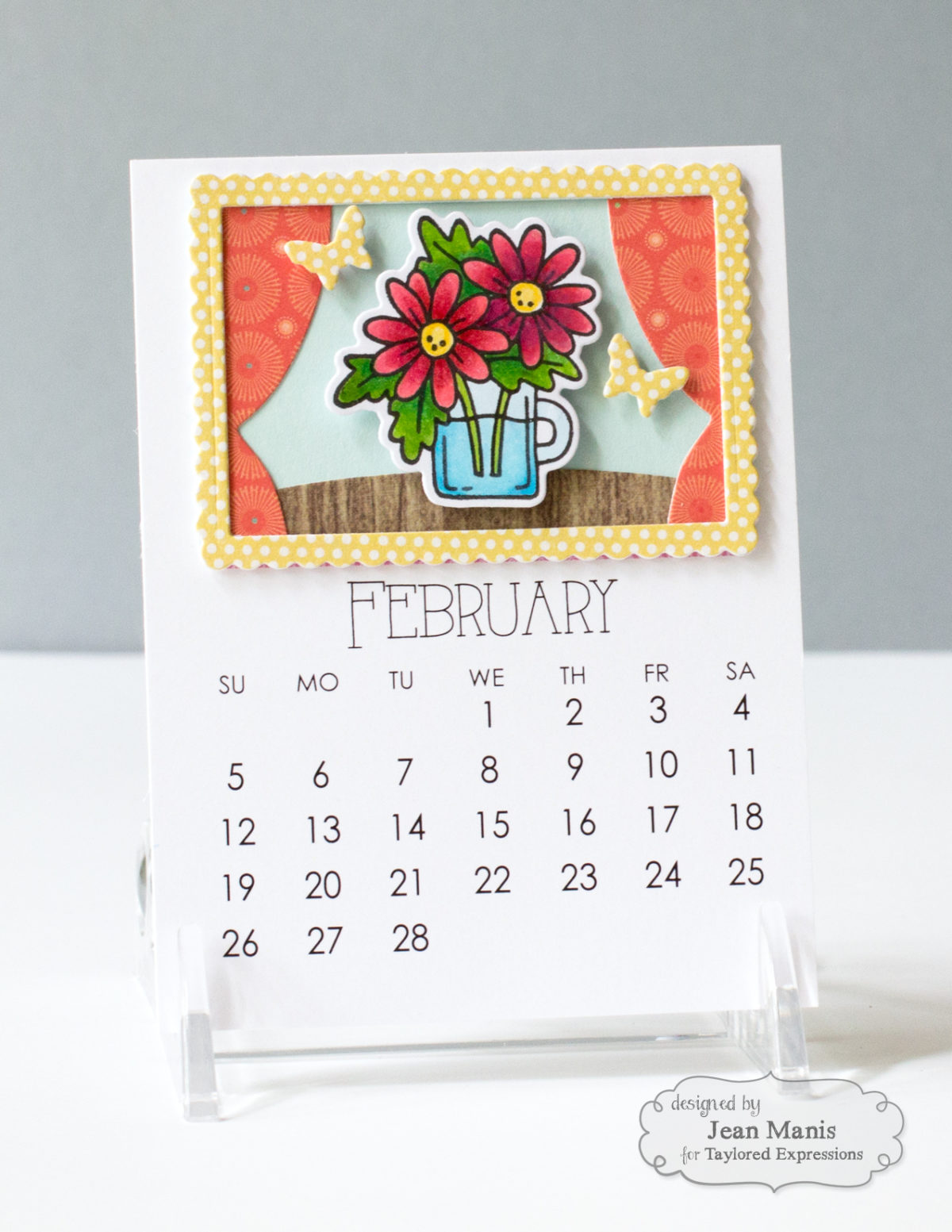 Taylored Expressions – February 2017 Calendar