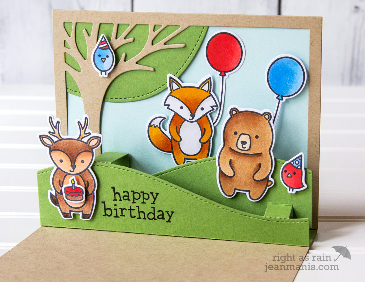 It's a Birthday Party – Lawn Fawn Party Animals