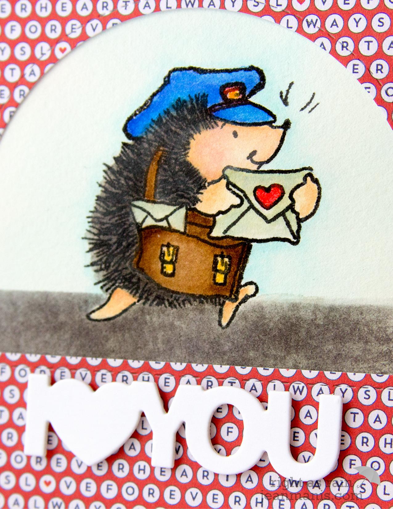 Penny Black Simplicity CAS Valentine