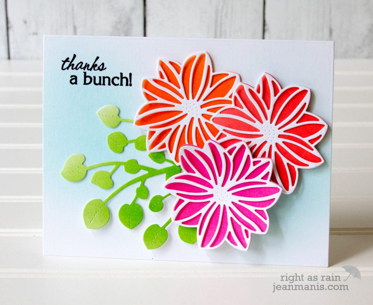 Penny Black Simplicity: Die-Cut Blooms