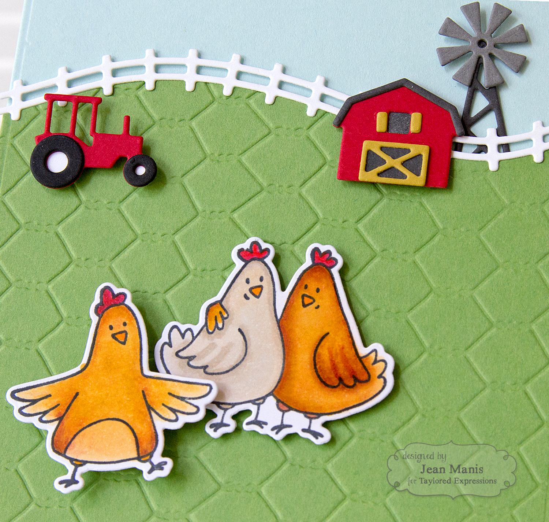 Taylored Expressions Farm Scene