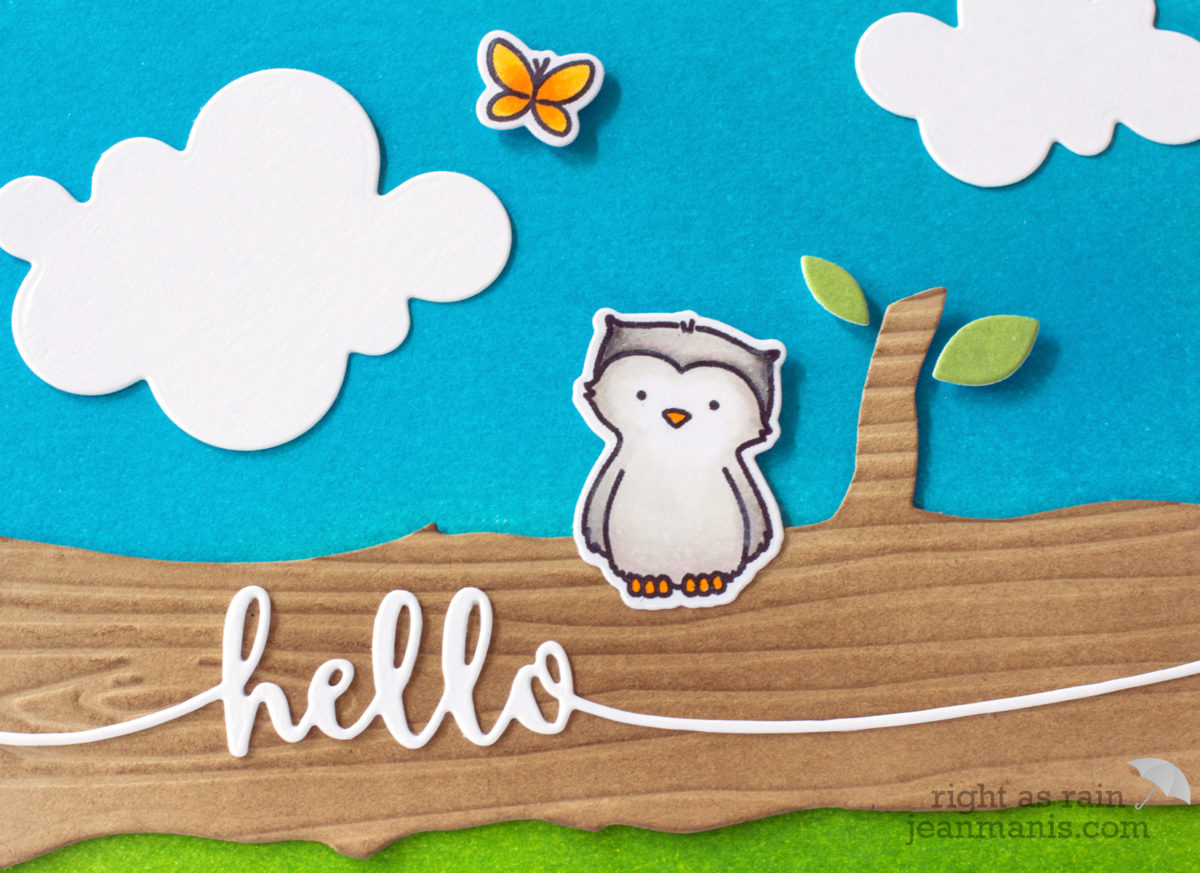 Hello – Avery Elle Woodland Wonders Owl