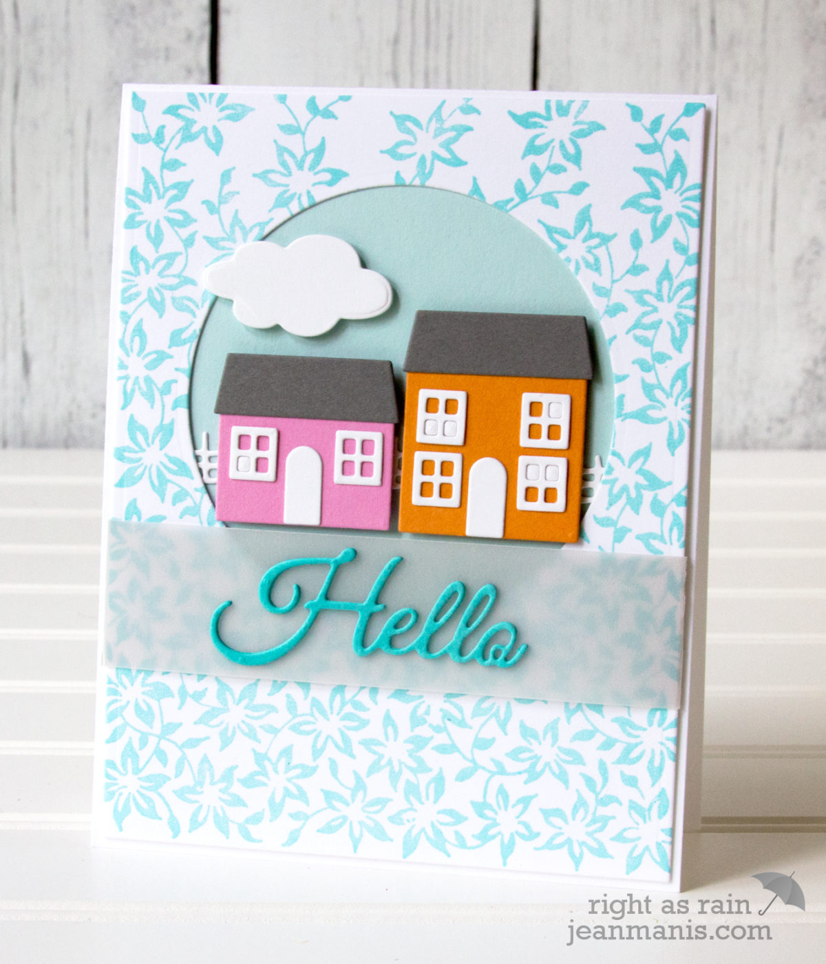 Penny Black Simplicity – Build-a-House Hello
