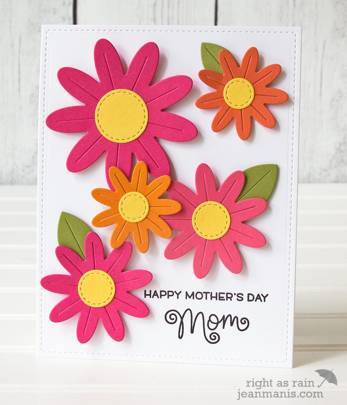 Lawn Fawn Flower Power – Mother's Day Card