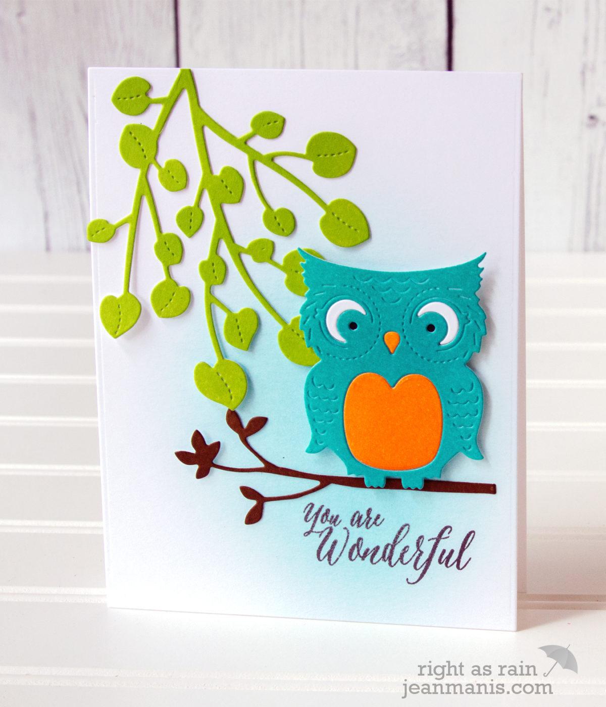 Penny Black Simplicity – Die-Cut Owl