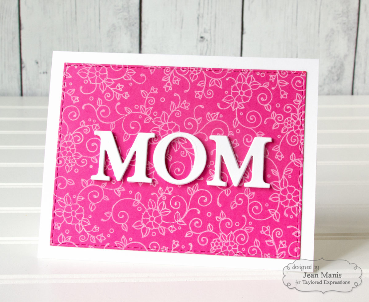 Taylored Expressions CAS Mother's Day Card