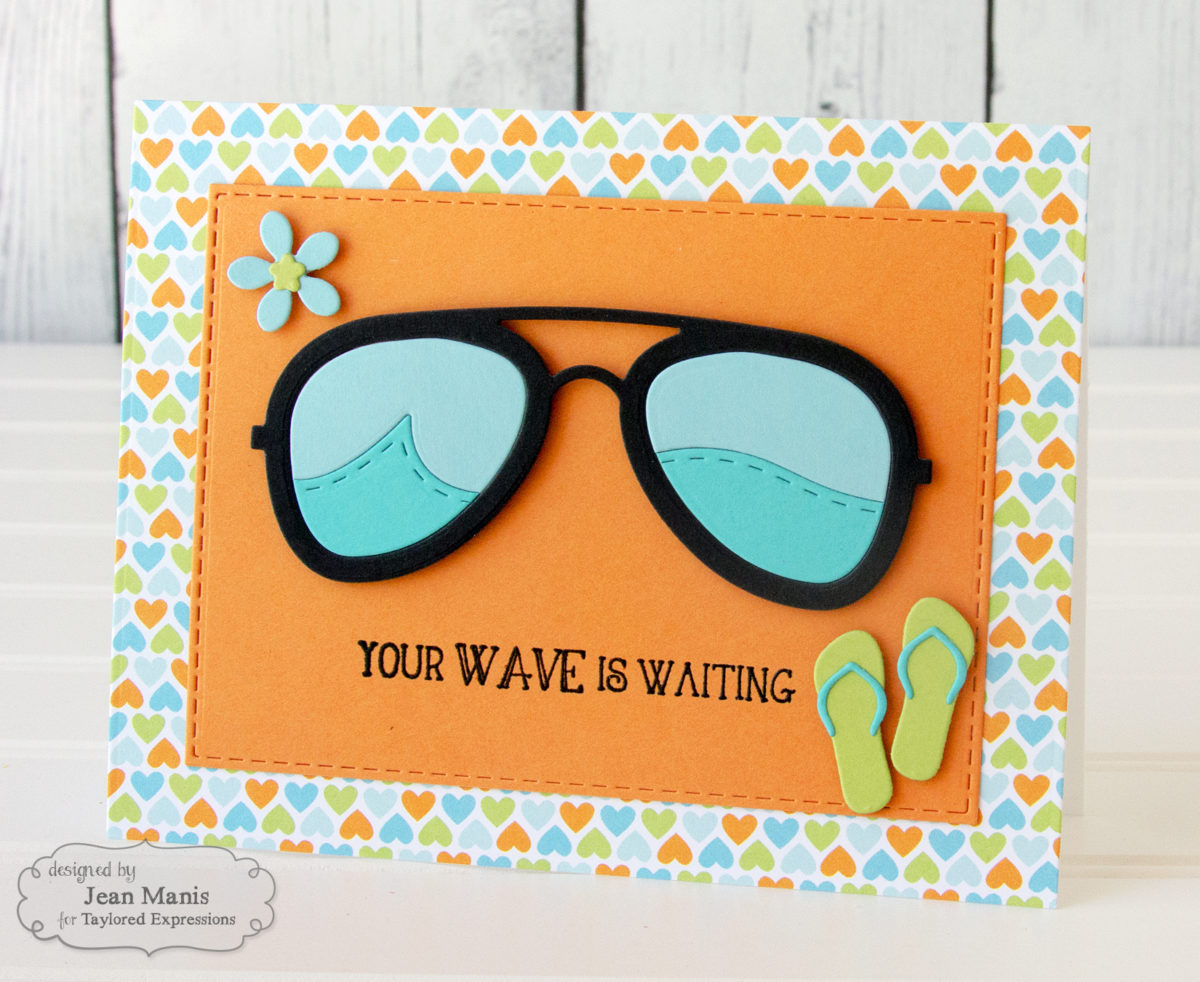 Your Wave Is Waiting – CAS Taylored Expressions Beach-Themed Card