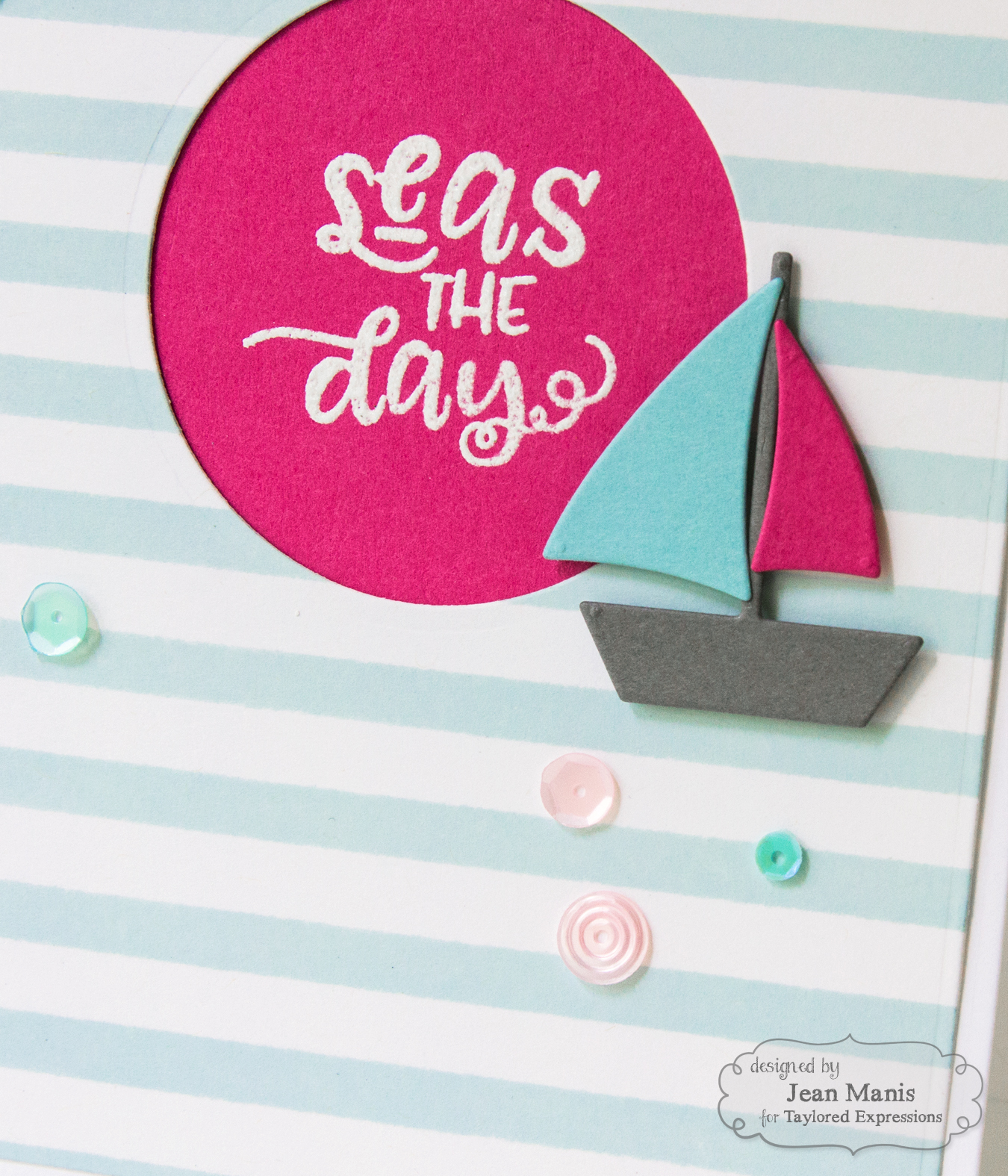 TE Feminine Nautical Card