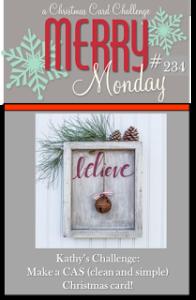 Merry Monday Challenge #234