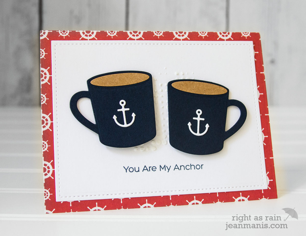My Favorite Things – Nautical-Themed CAS Card