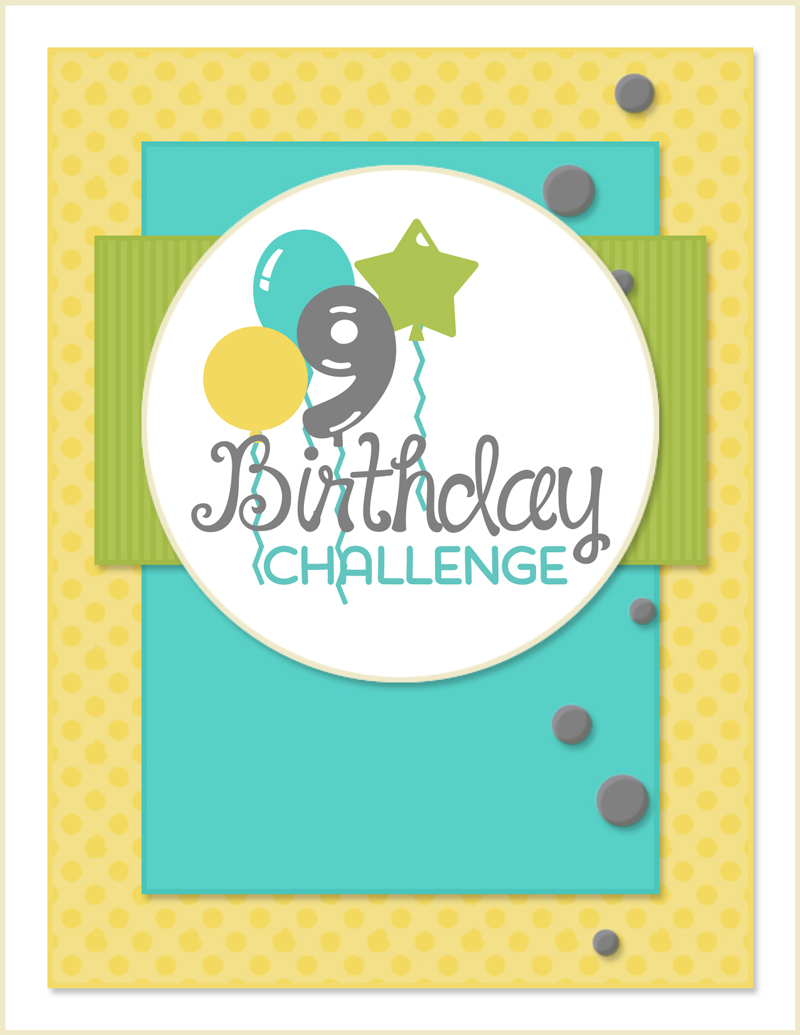 Taylored Expressions 9th Birthday Challenge