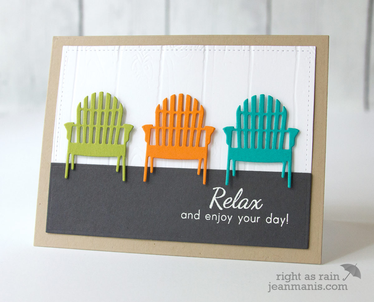 Die-cut Summer Chairs