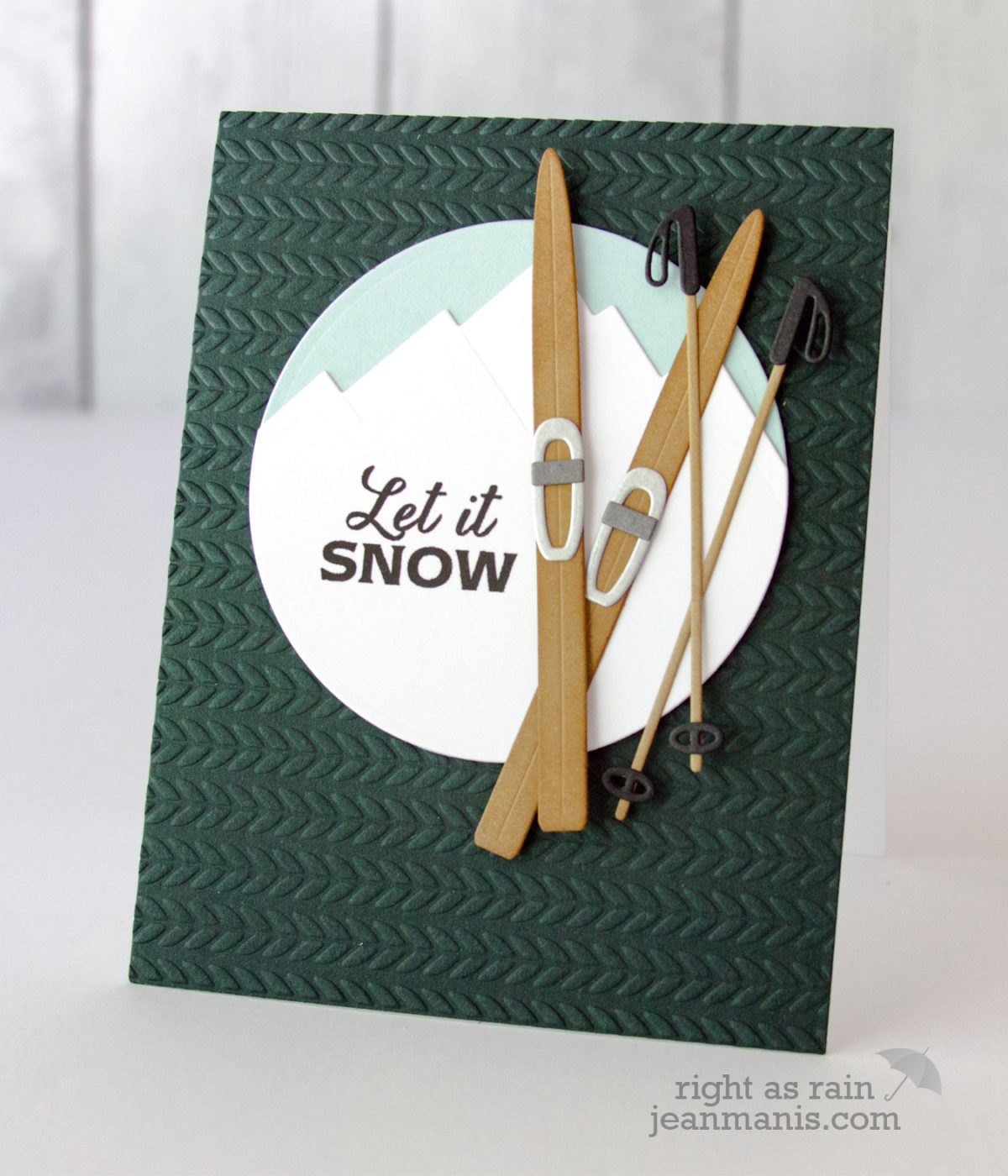 Let It Snow – Merry Monday Christmas Challenge Summer Link-up