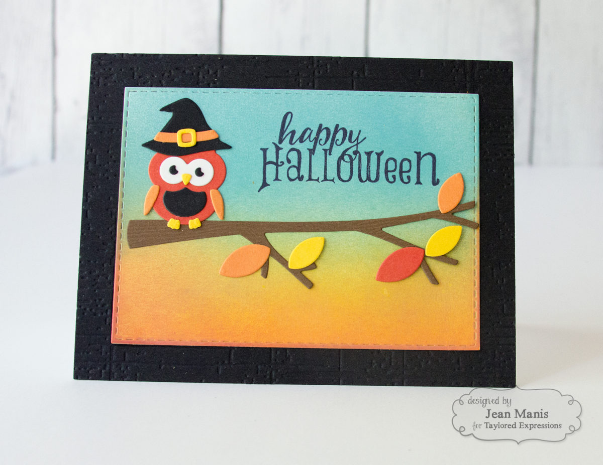 Taylored Expressions – Happy Halloween Owl
