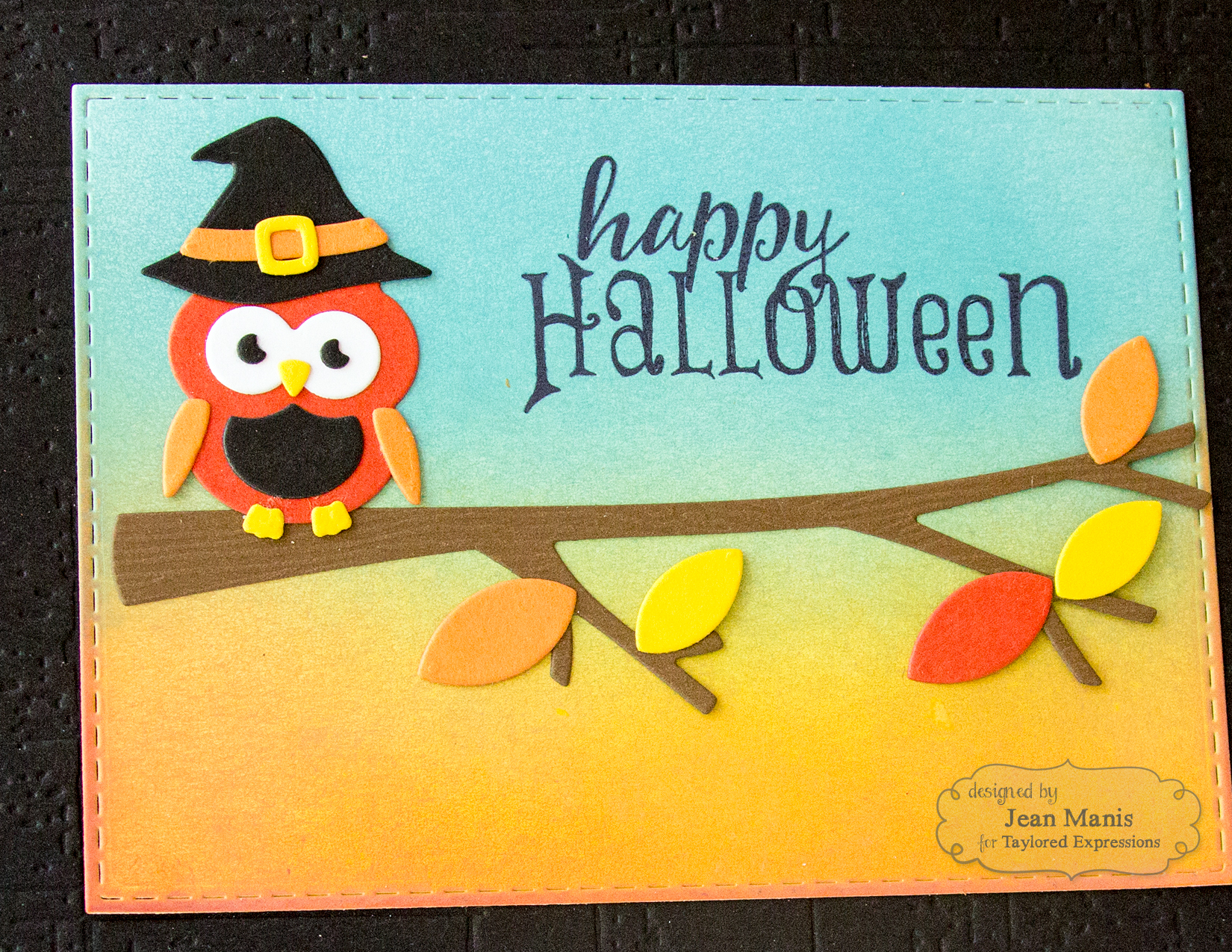 Taylored Expressions - Happy Halloween Owl