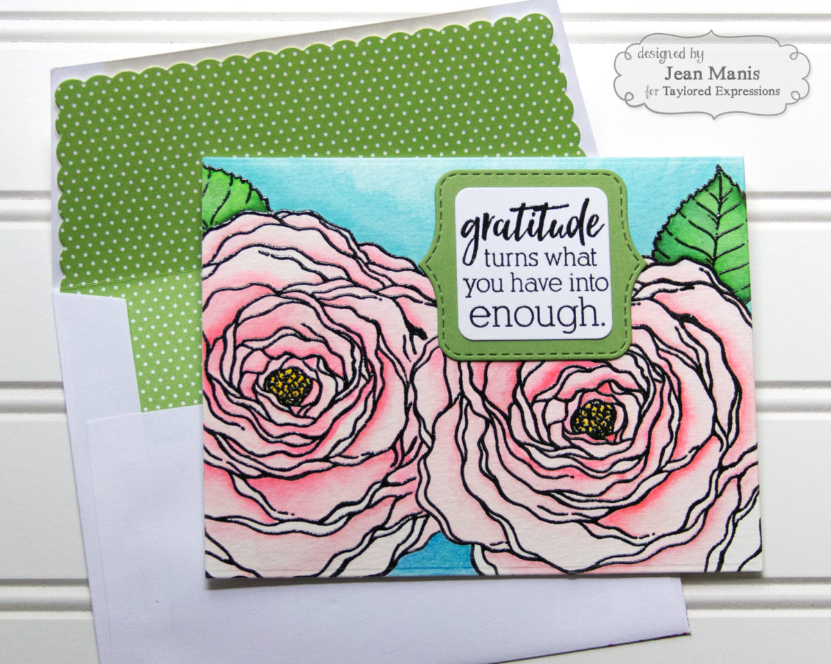 Taylored Expressions Big Blooms Card Set