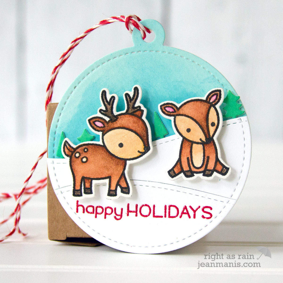 The 25 Days of Christmas Tags 2017 – Day 12 Lawn Fawn