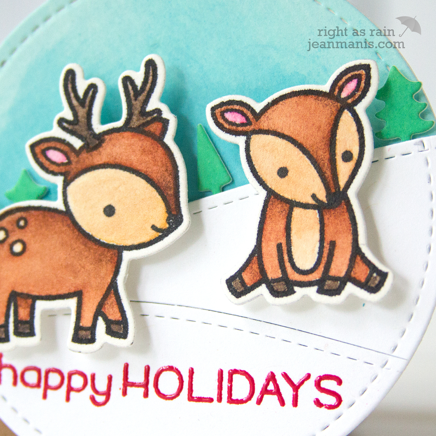 The 25 Days of Christmas Tags 2017 - Day 12 Lawn Fawn