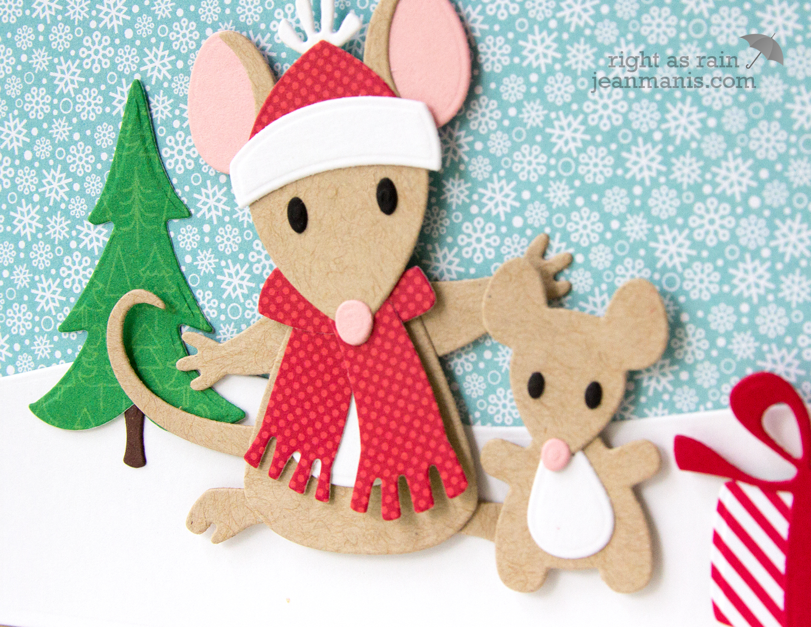Marianne Design Elin's Mice Family