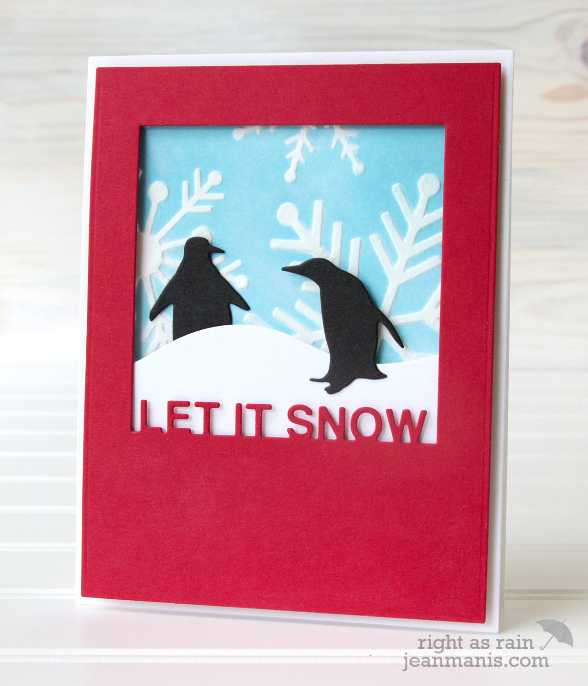 Let It Snow – Stencil and Die-cuts