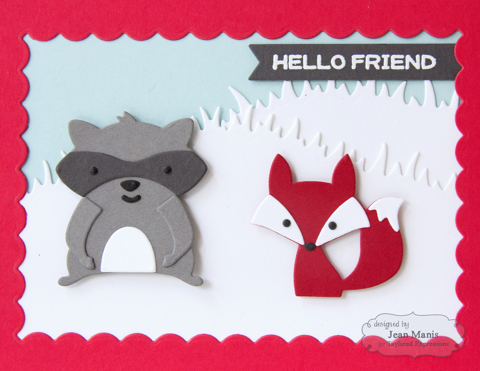 Taylored Expressions - Die-cut Forest Critters