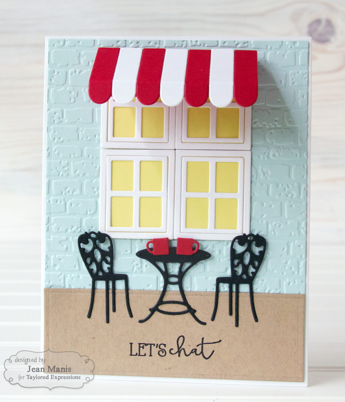 Taylored Expressions – Die-cut Bistro Scene